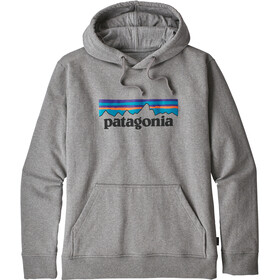Patagonia P-6 Logo Uprisal Felpa Uomo, gravel heather
